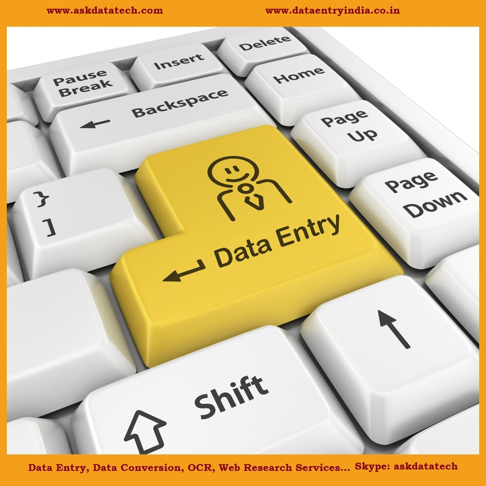 Data Entry, Data Capture, Data Processing, Data Conversion, Image Scanning, OCR and Indexing